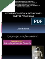 Historia de La Ciencia y Nuevos Paradigmas-Josefa Orfila