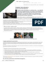 INRS - Collecte, tri et traitement des déchets