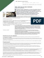 INRS - Détection en temps réel des gaz ou des vapeurs