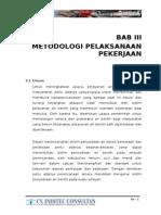 bab 3  metodologi pelaksanaan pekerjaan