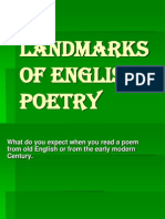 Landmarks of English Poetry