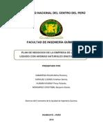Plan de Negocio de La Empresa Dnatura (Autoguardado)