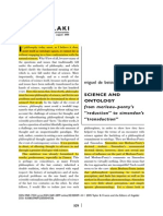 BEISTEGUI_Miguel_science and Ontology - From M-ponty Reduction to Simondon Transduction