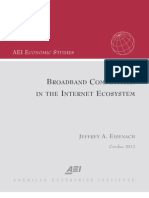 Broadband Competition in the Internet Ecosystem 164734199280