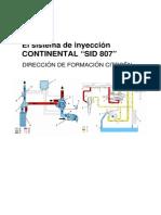 Inyección CONTINENTAL SID 807