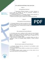 Regulamento Eleitoral 2013-2014
