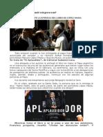 EL PAPA FRANCISCO ANTE LA ENTREGA DEL LIBRO DE LÓPEZ MASIA