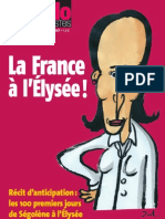 Hebdo des socialistes - La France à l'Elysée