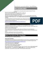 Laser Guidelines 80810