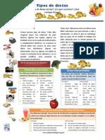 8. Tipos de Dietas