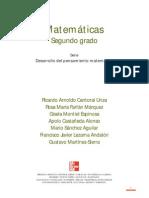 Cantoral Matematicas 2do