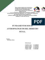 Fundamentos antropológicos del derecho