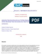 Muerte Encefalica. Criterios Diagnostico