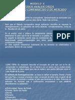 MODULO X - A-Metodos Avaluatorios- Comparativo.ppt