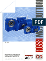 Rossi - AS07 (G) - Catalogo Completo