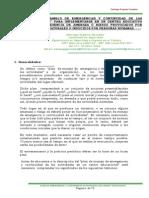 Plan Emergencia y Cont Act Centro Educativo