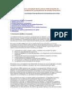 Resumen del marco conceptual de las normas internacionales de contabilidad para la preparación y presentación de estados financieros