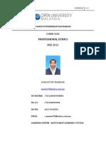 Isu Rasuah Profesionali Ethic One Line721120015494