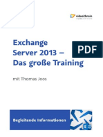 Portfolio ExchangeServer2013