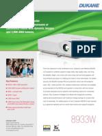 Dukane Imagepro 8933W.pdf