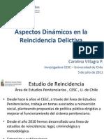 3-VILLAGRA - Factores Asociados a Reincidencia Delictiva