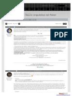 Programmazione Neuro Linguistica nel Poker