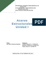 Acero Estructural Unidad I
