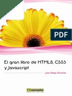 El Gran Libro de HTML5 CSS3 y Javascrip