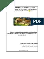 Apostila Plantas Medicinais 2 MANEJO E PRODUÇÃO DE PLANTAS MEDICINAIS E AROMÁTICAS