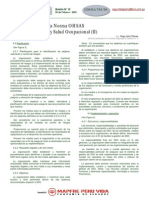 Implementacion Sistema Oshas 18001 II