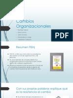 Cambios Organizacionales