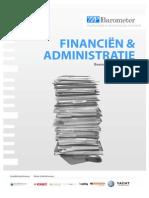 "ZZP Barometer - Themarapport ""Financiën & administratie"""