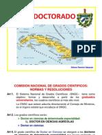 Doctorado en Cuba