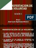 Sesión+5_LA+MANIFESTACION+DE+LA+VOLUNTAD