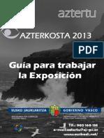 Guia Azterkosta 2013