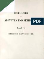 Lepsius, Carl Richard - Denkmäler aus Aegypten und Aethiopien - Band 4 - Anhang - Altes Reich