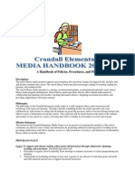crandall elementary media handbook 2013-2014