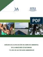 Derecho Ambiental Amazonia