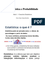 Estatística e Probabilidade