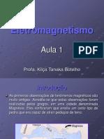 Apresent. Eletromagnetismo 1