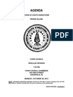 SK October 28 SC Town Council AGENDA.pdf