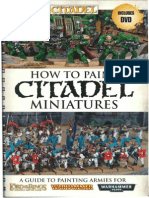 How To Paint Citadel Miniatures 2012