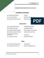 Plan de Desarrollo Urbano Metropolitano de Trujillo 2012- 2022