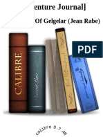 [Adventure Journal] - The Breath of Gelgelar (Jean Rabe)