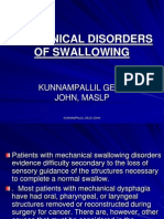 MECHANICAL DISORDERS OF SWALLOWING.pdf /  KUNNAMPALLIL GEJO