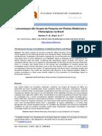 Consolidação dos Grupos de Pesquisa em Plantas Medicinais e