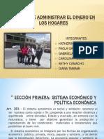 Administración del Dinero - presentacion