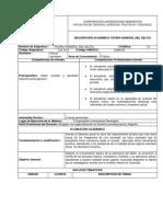 Carta Descriptiva de La Materia