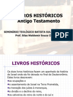 ANTIGO TESTAMENTO - PARTE 3 - HISTÓRICOS