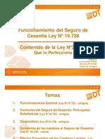 Seguro de Cesantía - Presentación de la Dirección del Trabajo